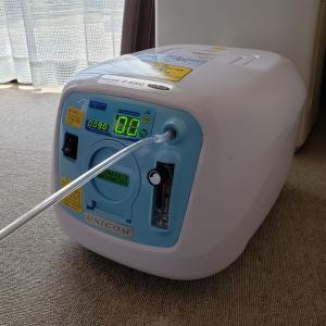 【大型犬の介護】酸素濃縮器