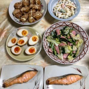 【節約飯※】創意工夫の今夜の夕食⭐️