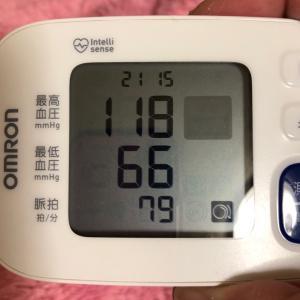 【血圧※】安定した数値です⭐️