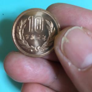 【10円玉※】令和元年の10円玉が3枚あります⭐️
