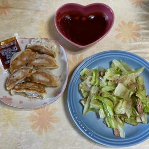 【2021/07/24※】夫の要求・オカズ2品の質素な食卓⭐️