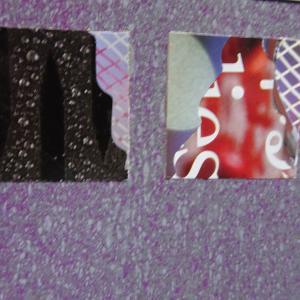 【新作】6.<ヘンデルのように私を泣かせてくださ>2011年 制作 コラージュ作品