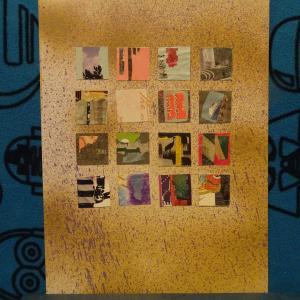 【新作】1.<客船はエーゲ海に>2011年 制作 コラージュ作品