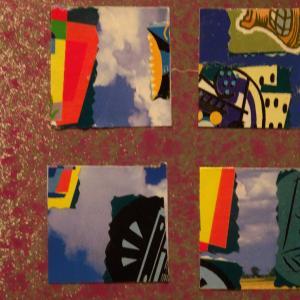 【新作】3.<宇宙は青い色彩を>2011年 制作 コラージュ作品