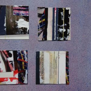 【新作】4.<雨の約束は>2011年 制作 コラージュ作品