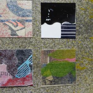 【新作】4.<展覧会の夜を>2011年 制作 コラージュ作品