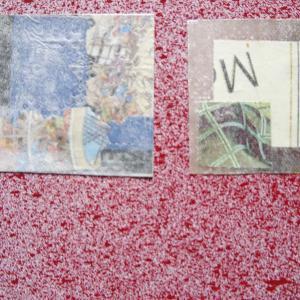【新作】5.<6月の風に>2011年 制作 コラージュ作品