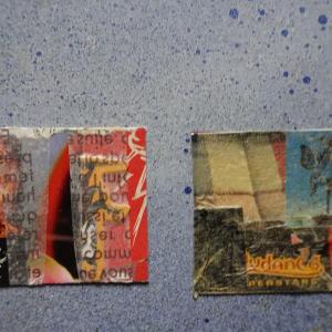 【新作】2.<羽ばたく大きな蝶>2011年 制作 コラージュ作品