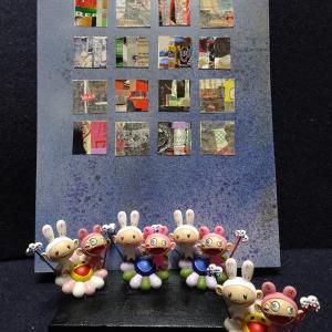 【おまけ】<羽ばたく大きな蝶>2011年 制作 コラージュ作品