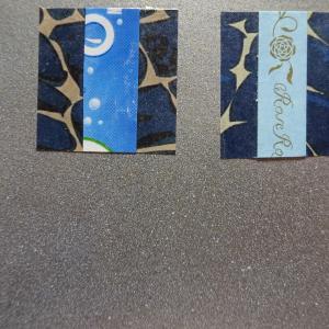 【新作】5.<青いバラの世界に>2011年 制作 コラージュ作品
