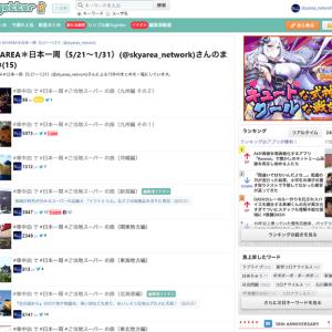 Togetterに #ワークス日本一周 をまとめました