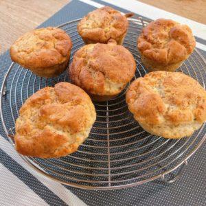 甘酒バナナマフィン(卵なし&砂糖なし)米粉で作る作り方・レシピ