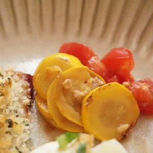 ズッキーニとトマトの醤油麹マリネの作り方