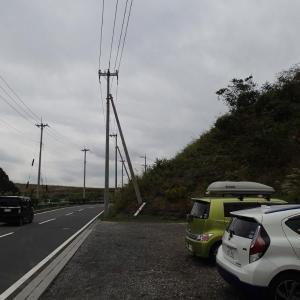 台風一過(柏木山)。