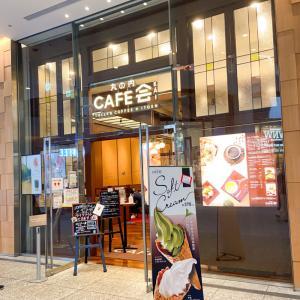 【丸ノ内 カフェ会】東京駅そばの和洋折衷カフェで食べるかき氷