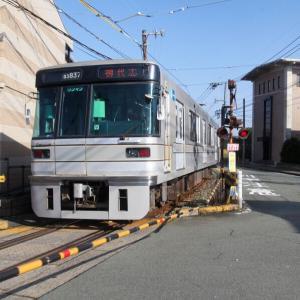 熊本電鉄 併用軌道区間