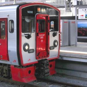 熊本駅で列車撮影
