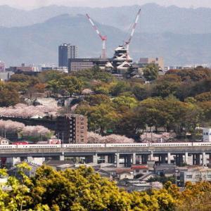 復興熊本城と鉄道