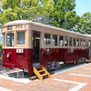 大牟田駅前の路面電車