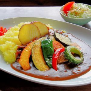 道の駅名物 季節の野菜カレー