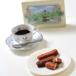 熊本のお菓子 黒糖ドーナツ棒(熊本城缶入りパッケージ)