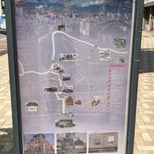 釜山駅前 夢の通り道  초량 이바구길(草梁イバクキル)