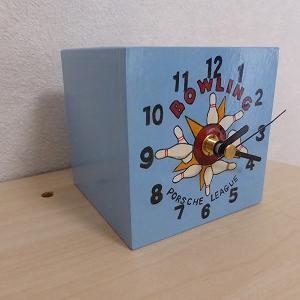 キュ-ブ型時計を修正しました!
