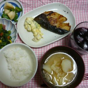 今日の夕食。
