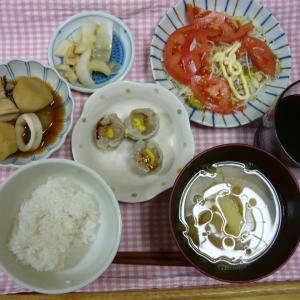 28日の夕食と寒い1日だった。