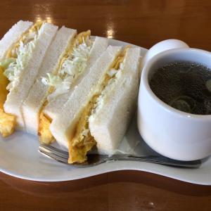 ブレンド珈琲&1/2サンドイッチモーニング めいく(大垣市)