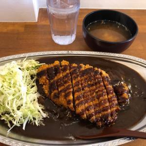 豚カツカレー大盛・味噌汁 金沢カレー(大垣店)