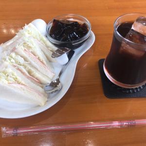 アイス珈琲&ハムサンドイッチモーニング めいく(大垣市)