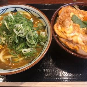 カレーうどん・親子丼小 丸亀製麺昭和白金店