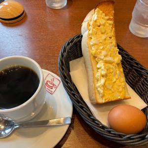 ブレンド珈琲&玉子サラダトーストモーニング カフェヨシノ長久手店