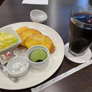 アイス珈琲&フレンチトーストモーニング 森の家珈琲店(東区)