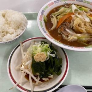 野菜味噌ラーメンランチ