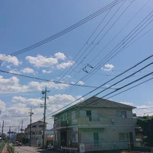 大阪は、めちゃくちゃ晴れている。