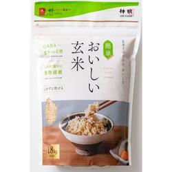 玄米は野菜、白米は餅かな?炊き方が昔は難しい、