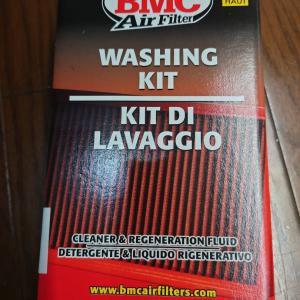 BMCエアクリーナーを洗浄してもらったのです〜(FIAT500)