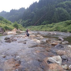 20200627鮎釣り県内小河川②