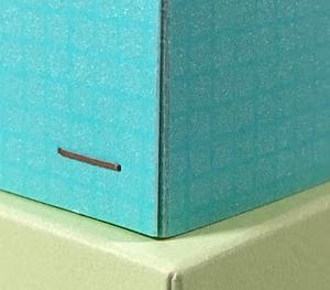 ホッチキス箱✨その後。作り方のコツだよ!