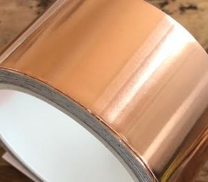 幅広銅箔テープをダイカットして使う!