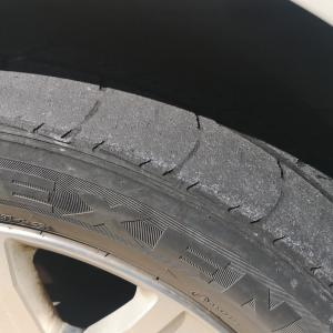 デリカD:5のタイヤ交換