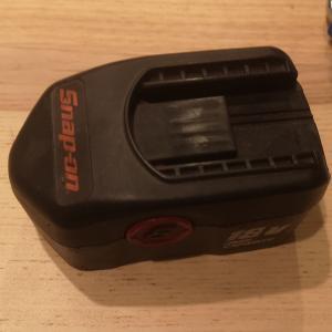 15年くらい前に購入したインパクトのバッテリーの修理を試みた
