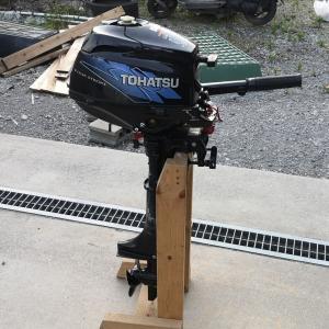 初めてのトーハツ2馬力船外機!!DIYで修理開始!