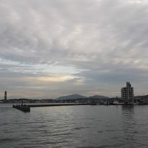 久し振りに関門海峡でイカ釣り!やっぱり難しい関門海峡!!