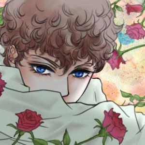 青薔薇、白薔薇の次は、赤薔薇ですよね
