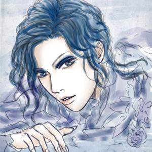 青薔薇…ざっと感。