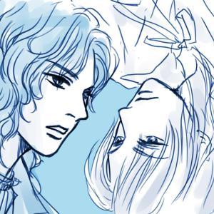 青薔薇VS白薔薇…ざっと感