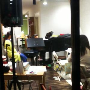 娘のピアノ教室